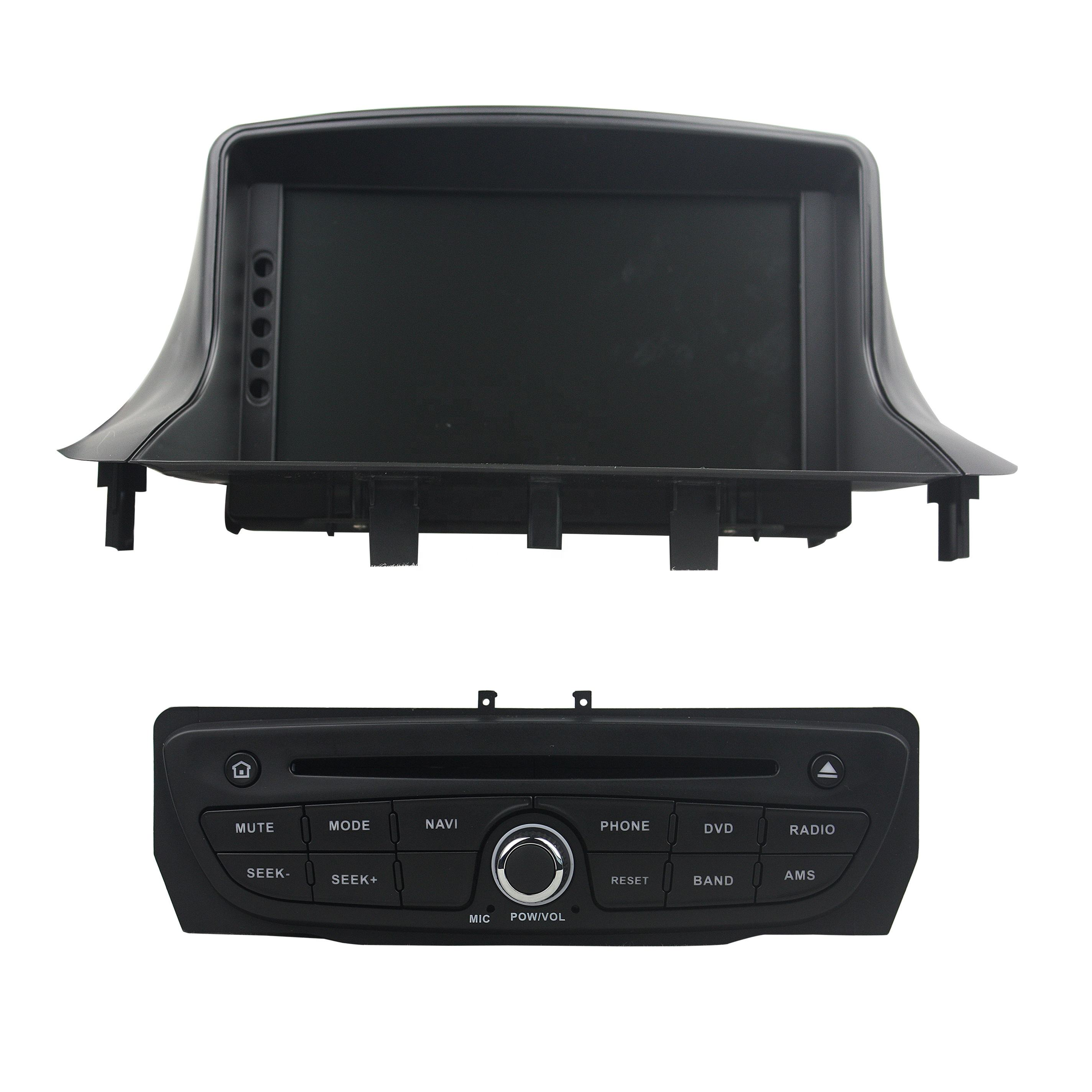 7 incn Android 9.0 4GB + 32GB Auto radio <span class=keywords><strong>DVD</strong></span>-player wifi GPS Navigation für Renault Megane III Fluence 2009-2016