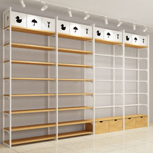 Hot Sale Wall Unit Display Shelf Funiture Miniso Steel Shelves New Style