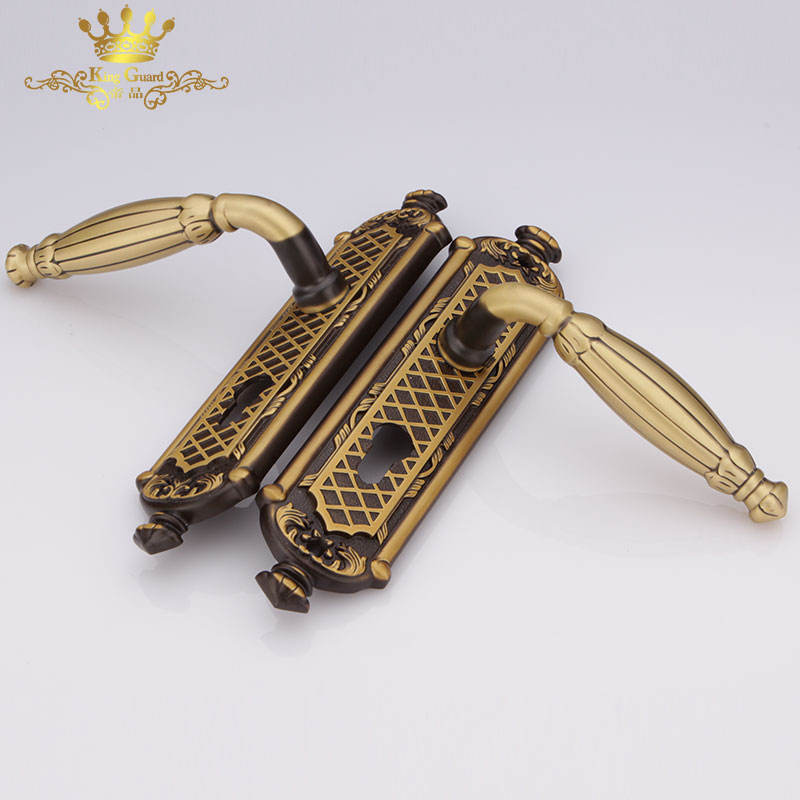home security furniture high quality industrial brass door handles and locks
