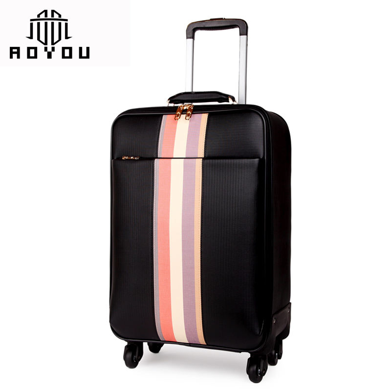 suitcase travel luggage trolley bag luggage sets carry on luggage bag