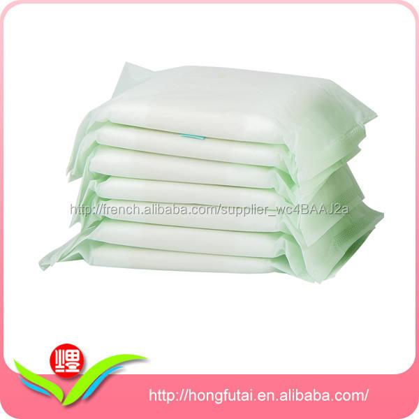 Jetable ultra mince murmure serviettes hygiéniques
