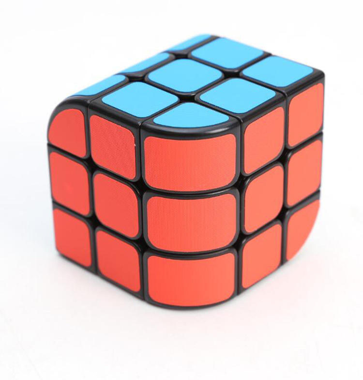 Custom promotion gift plastic enlighten funny IQ educational creative 3d toys kid puzzle cube
