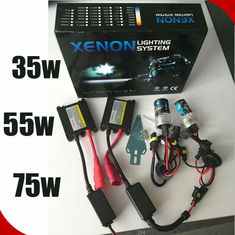 55W H7 Xenon Hid Conversion Kit Set Pair Spare Part Canbus For Alfa Romeo