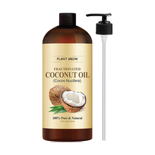 private label OEM/ODM cold pressed fractionated extra virgin coconut oil
