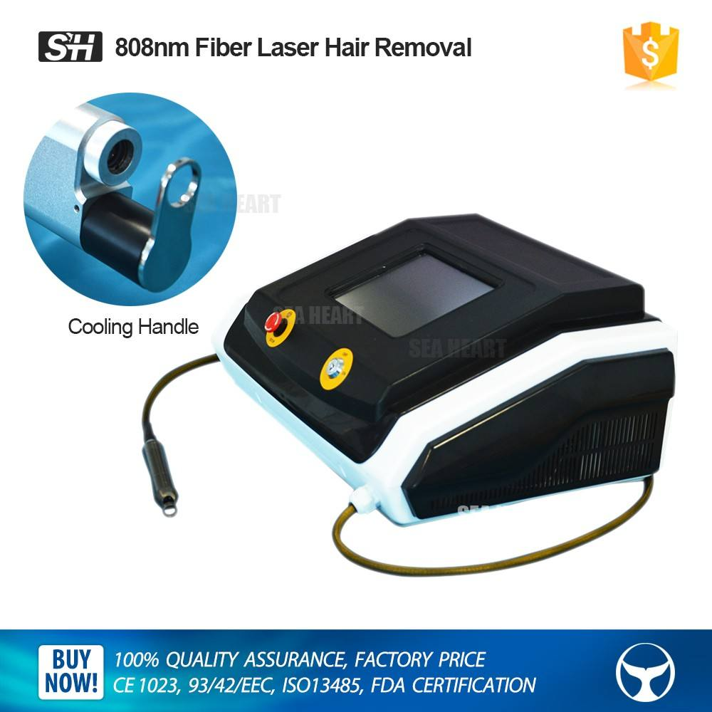 2017 sea heart beauty salon use High power 808nm diode laser machine for hair removal