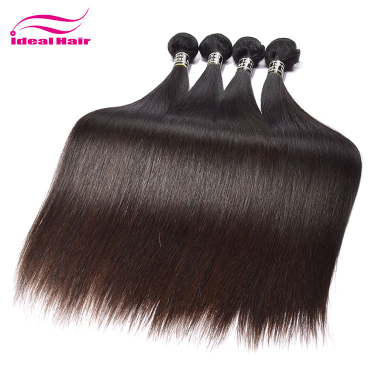 full cuticle high reputation 100 percent human hair indian straight hair,remy weave human hair india