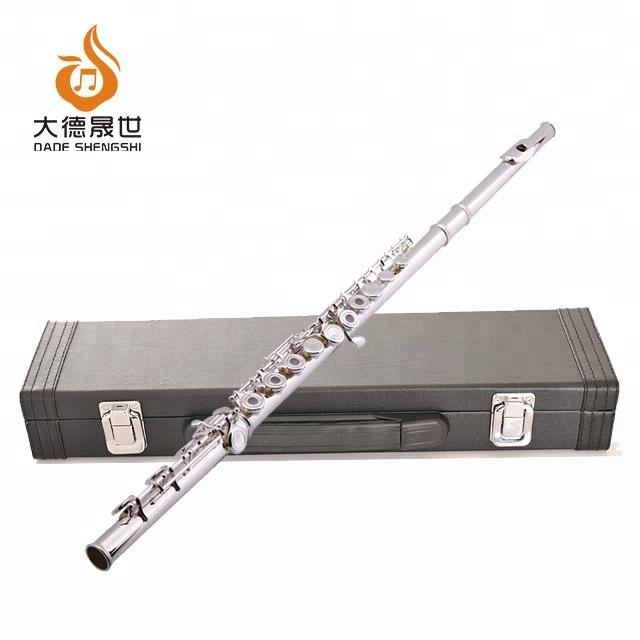 Accept OEM DS-213LY-2 Good Quality Silver Plated Flute