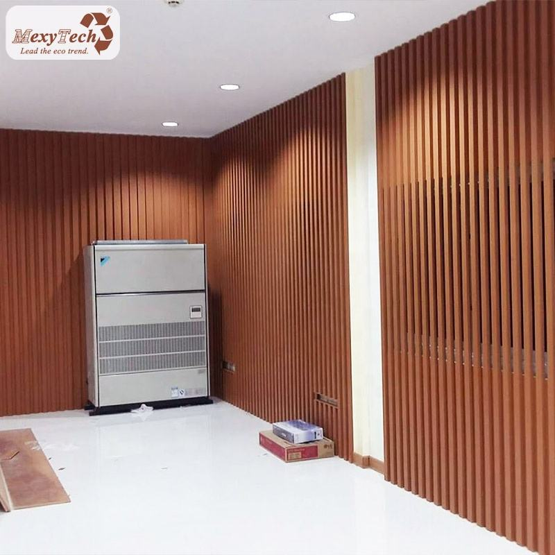 natural wood grain texture indoor alternative wall covering material