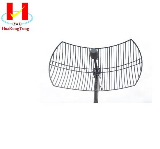 4G 1700-2700MHz 24dbi high gain MIMO parabolic grid antennas