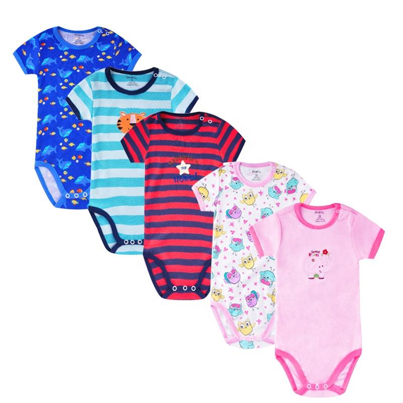 Redkite Hot Selling Baby Clothes Pure Cotton Newborn Romper For Baby Boys&Girls