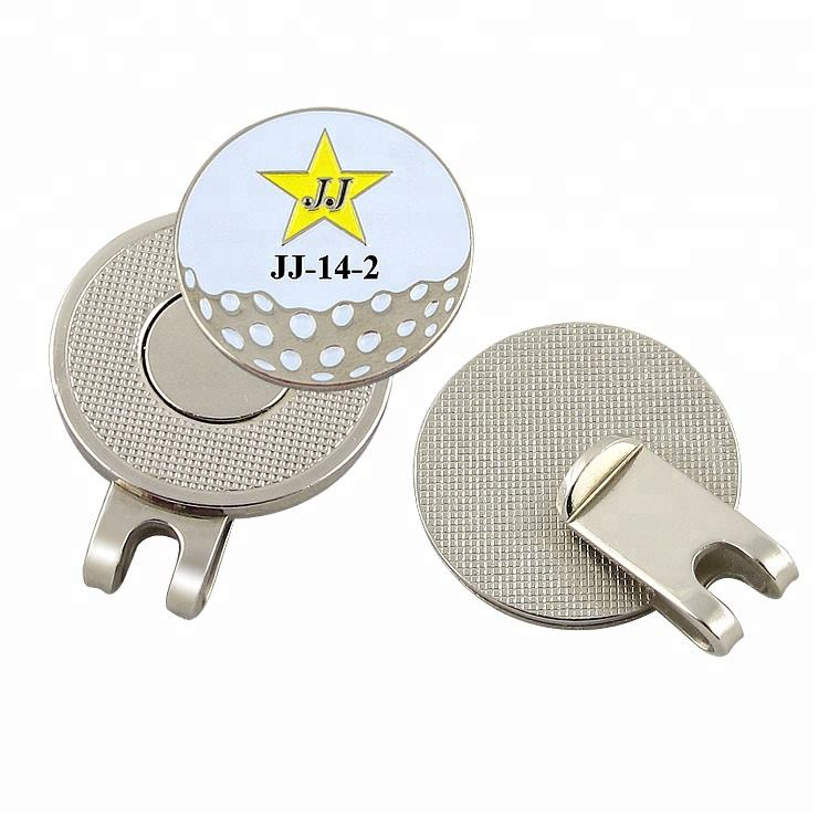 Golf Ball Marker Hat Clip Divot Tool