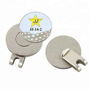 Professional Factory Golf Ball Marker Hat Clip Divot Tool