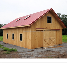 Fast building prefab wooden Barn
