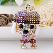 Modern Animal Jewlary Cute Keychain Dog Creative gifts Wedding Gifts For Guests Keychain china