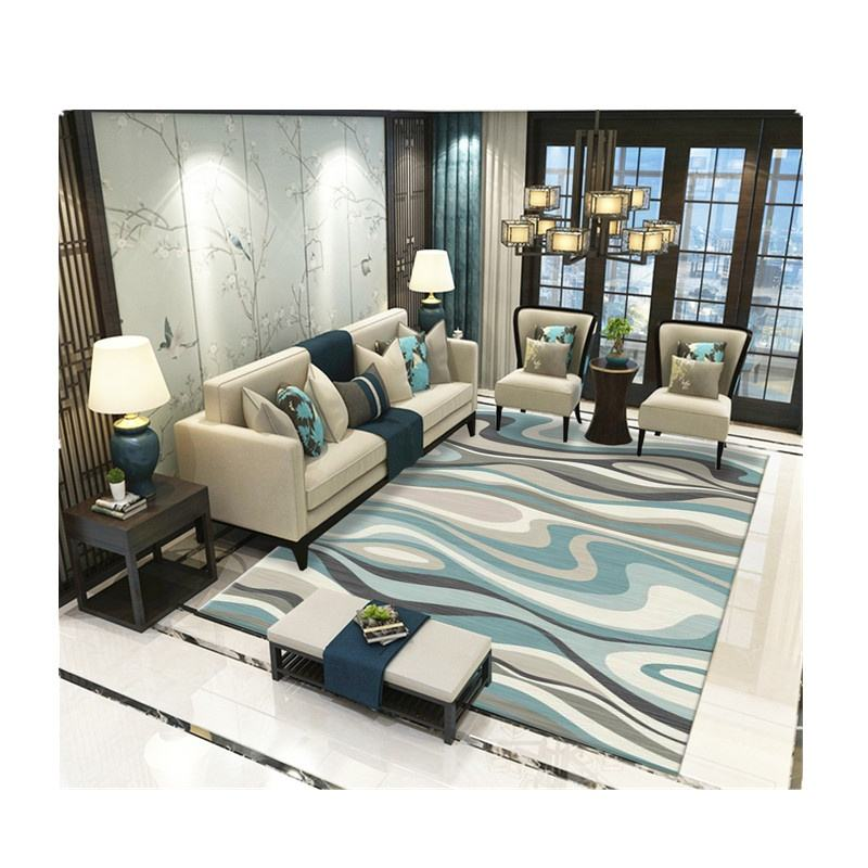 Customized high quality polyester printed 3D carpet flooring for sale