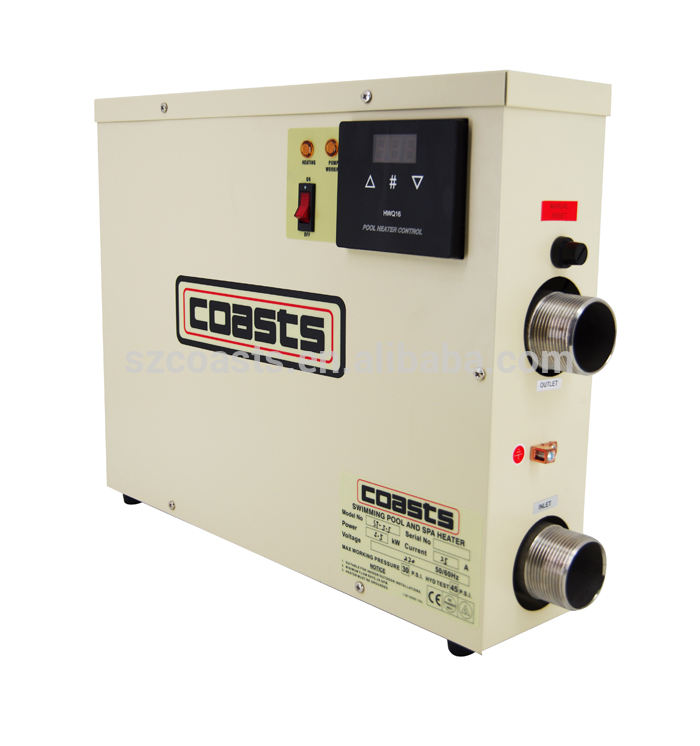 coasts ST series 11KW 220-240V 50hz electric pool water heater