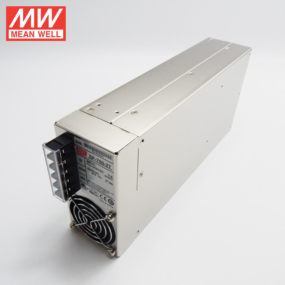 75W untuk 10KW Meanwell RSP Seri Neon Power Supply 27vdc 750W Smps RSP-750-27