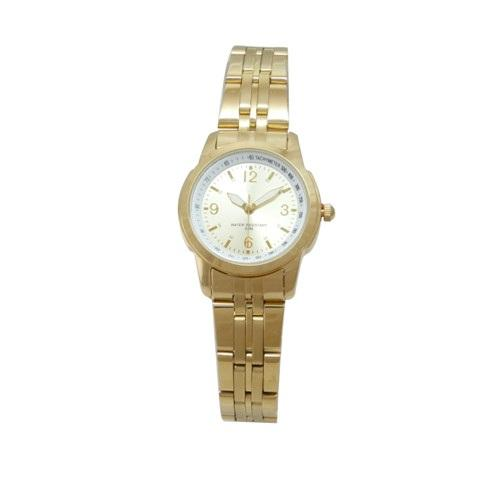 Stainless steel material luxury brand silver color girl watch suit for small wrist