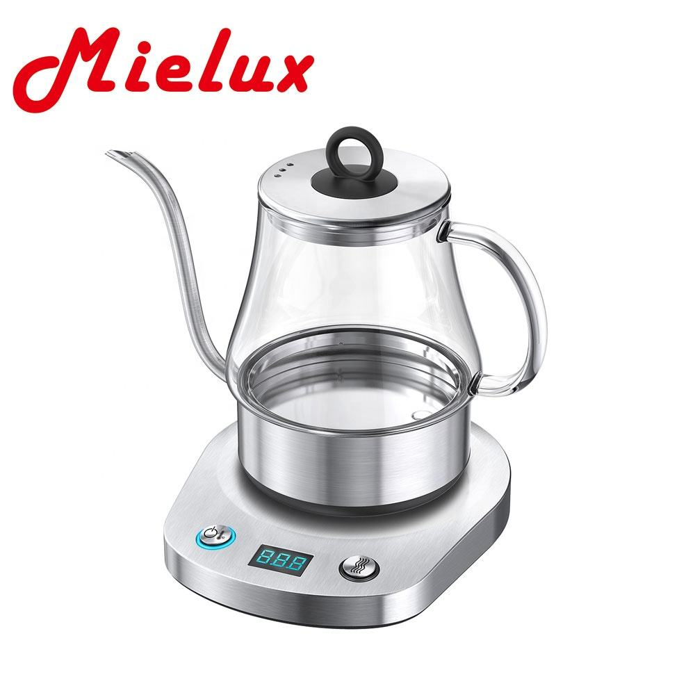 360 rotational S/S kettle & transparent ,Stainless steel body & Automatically turns off & Adjustable temperature &Strix control