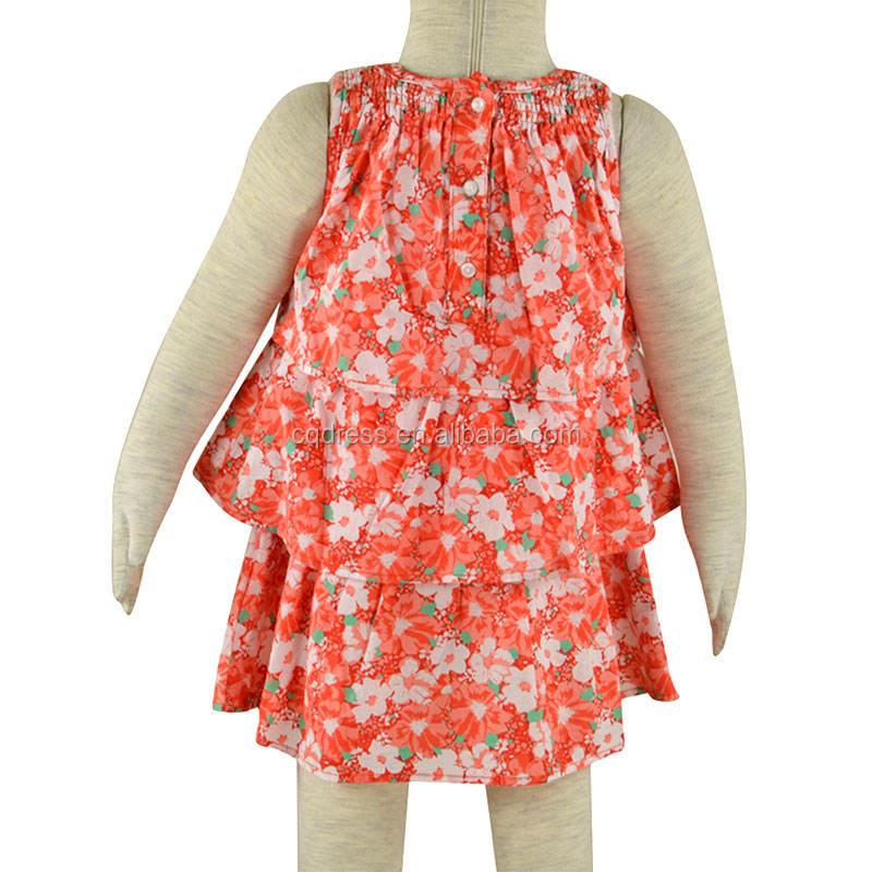 bebé <span class=keywords><strong>chica</strong></span> <span class=keywords><strong>moda</strong></span> flora niños vestidos diseños
