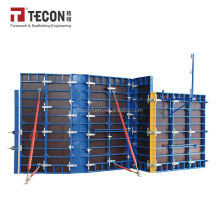 DOMINO PERI Aluminum Frame Adjustable Concrete Form Wall Formwork with Birch Plywood