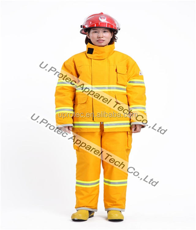 EN469 Structure Fire Fighting Suit / Turnout Gear / Fireman Uniform