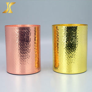 Wholesale hot gold / silver / rose gold candle holder stand