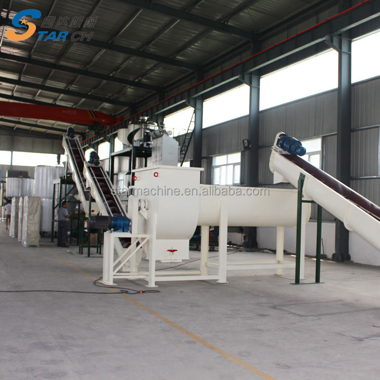 Electric Cassava Flour Mill/Cassava Grinding Machine for Dry Material