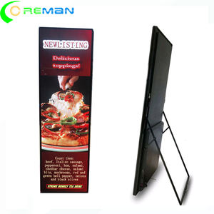 P2.5 p2.57 Enegery saving custom product reclame HDMI DVI VGA Input led scherm