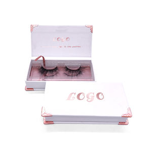 SY shuying custom eyelash packaging box false eyelash packaging box wholesale