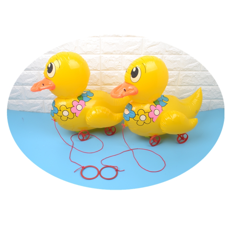 Inflatable Animal New Inflatable Toy 45cm Best-selling Inflatable Yellow Duck
