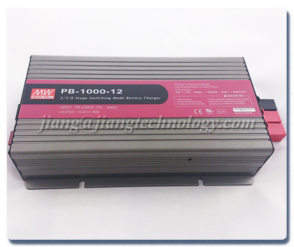 Meanwell 1000 W 12 V Power Supply Caricabatteria PB-1000-12 60A 12 V Con Funzione PFC SMPS