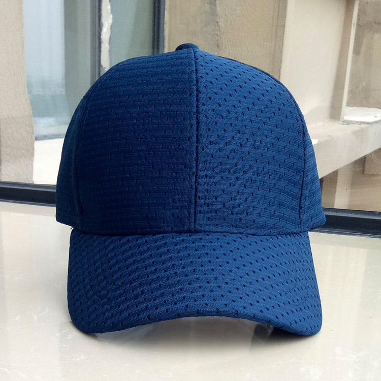 New arrival breathable Bird eye cloth summer custom baseball mesh cap hat 6 panel poly bird eyes mesh cap breathable summer cap