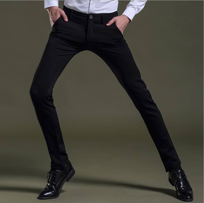 Wholesale Latest Design Slim Fit Chino Stretch Casual Men's Pants