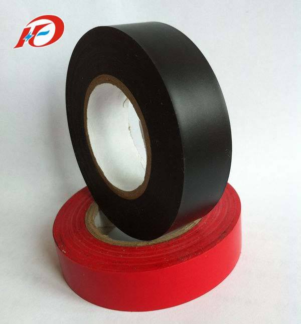 High temperature pvc insulation electrical tape jumbo roll