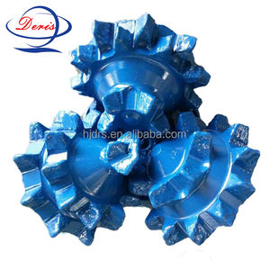 Tricone steel tooth bits/well rig drilling bit for oil field/exploration drilling equipment