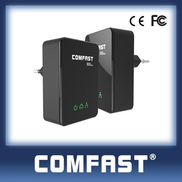 Comfast adapter mạng cf-wp500m ce fcc RoHS tuân thủ <span class=keywords><strong>powerline</strong></span> bộ chuyển đổi