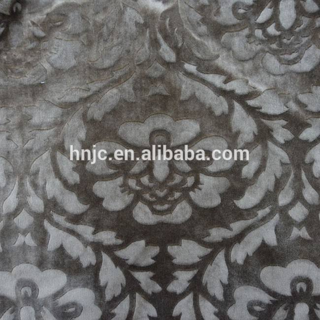 supplier flower brushed welsoft thick ef velboa fabric for spandex sofa cover