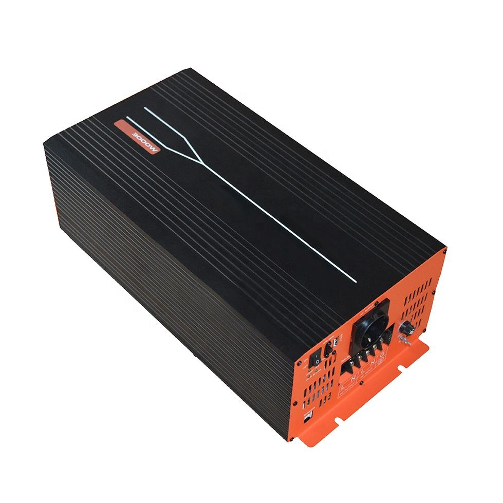 off grid 3000w UPS inverter dc to ac power automatic switchover smart converter