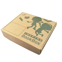 Customized Tuck Top Boxes Corrugated Mailing Boxes