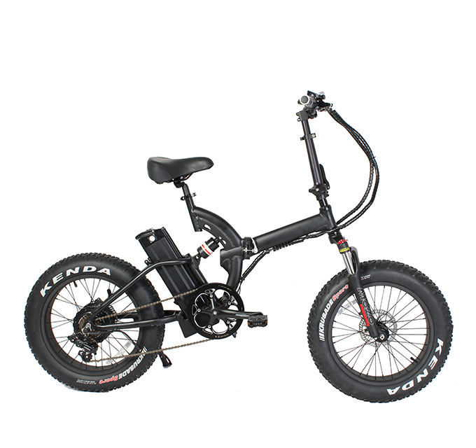2020 Nieuwe Collectie Ce-certificering Israël Elektrische Vouwfiets 20 Inch Full Suspension Mountain Fat Tire E Bike