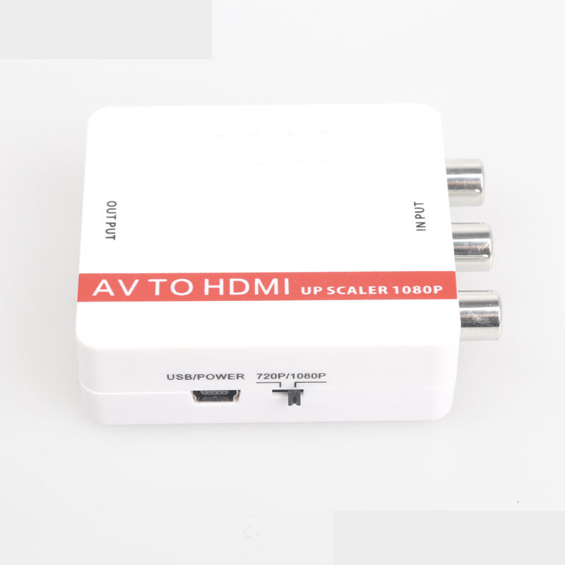Audio video kleine box 4k mini 1080p AV zu <span class=keywords><strong>HDMI</strong></span> <span class=keywords><strong>konverter</strong></span>