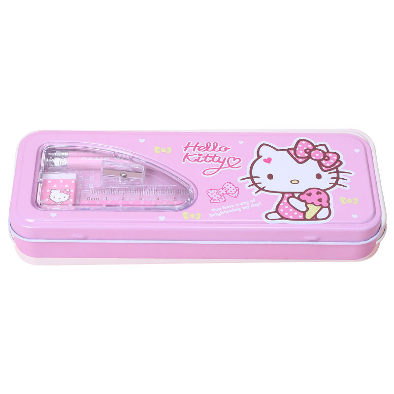 TOPSTHINK Cheap hello kitty cute trousse scolaire with stationery