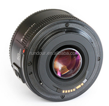Best quality yongnuo lens yn50mm f/1.8 large af lens yn 50mm for Nikon DSLR camera