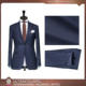 made to measure pure wool blue business men custom made suit