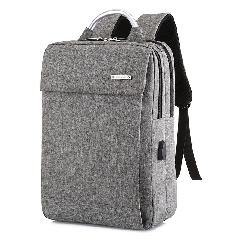 2019 Fashion Large Business Backpack Men USB Laptop Bagpack School Bags Male School Bag Student Schoolbag