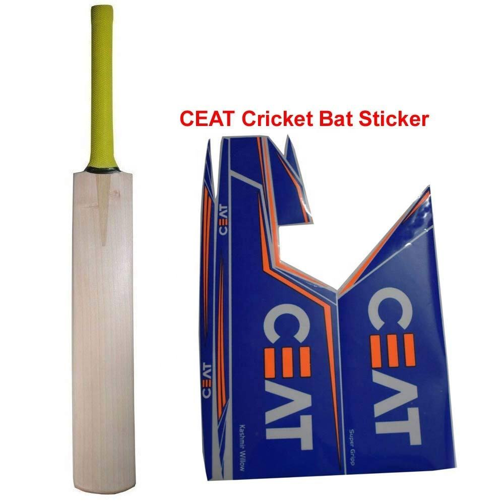 Sun Proof Custom kiss Cut vinyl sport logo labels Baseball Cricket Bat Stickers