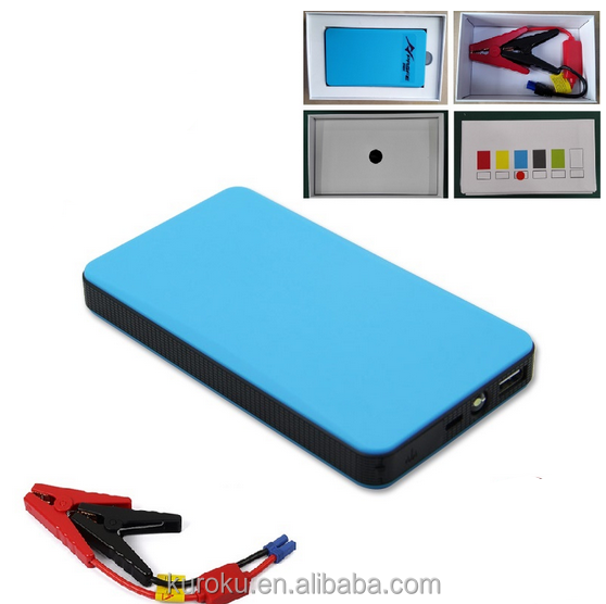 Mini 12v 6000mah Battery Booster Car Jump Starter Power Bank