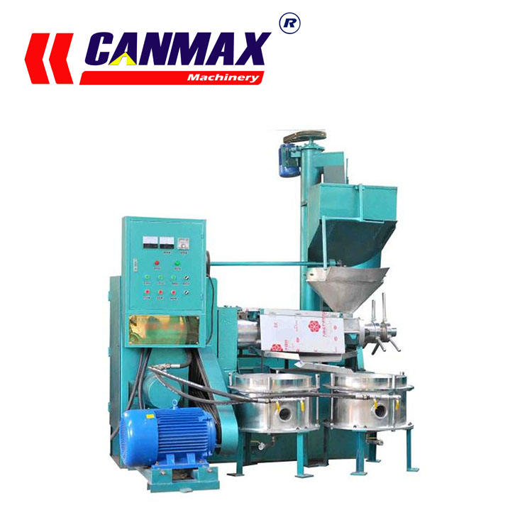 New type screw oil press 6YL-125 with top quality