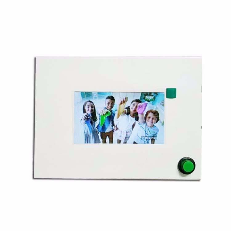 Hotsales High quality 4.3inch business advertising machine new video greeting brochure cards for presentations